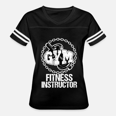 Gym Beast Gym Fitness Instructor Workout Motivation White - Women's Vintage Sport T-Shirt