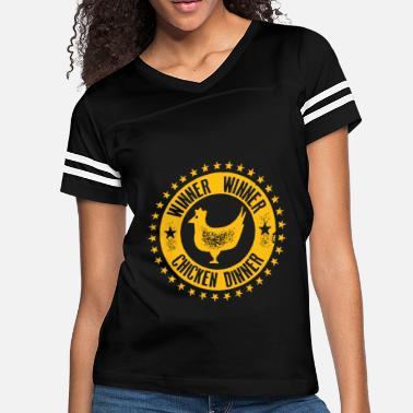 ba2b3a57a Winner Winner Chicken Dinner Coolvegas Style Casin - Women's Vintage  Sport T. Women's Vintage Sport T-Shirt