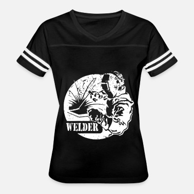 Welders Welding Torch Welder Metal Worker Mask Sparks Torch Steel Weld T - Women's Vintage Sport T-Shirt