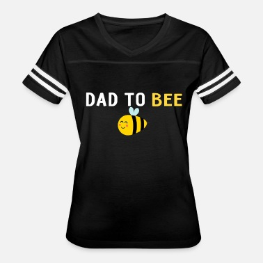 Mens Bee Mens Dad To Be - Dad To Bee - Baby Announcement - Women's Vintage Sport T-Shirt