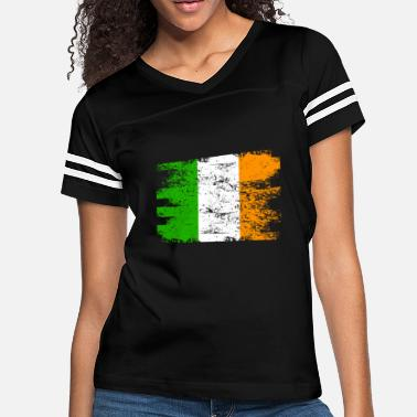 Ireland Ireland Gift Country Flag Patriotic Travel Shirt Europe Light - Women's Vintage Sport T-Shirt