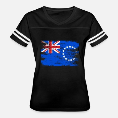 Cook Island Flag Cook Islands Shirt Gift Country Flag Patriotic Travel Oceania Light - Women's Vintage Sport T-Shirt