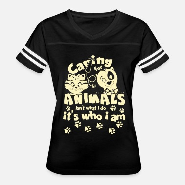 Pet Sitting Caring For Animals T Shirt - Women's Vintage Sport T-Shirt