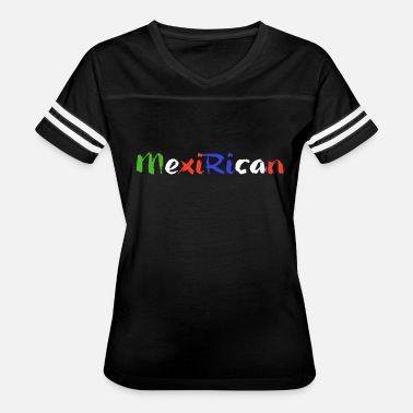 Puerto Rican Pride Mexi-Rican Mexican and Puerto Rican Pride - Women's Vintage Sport T-Shirt
