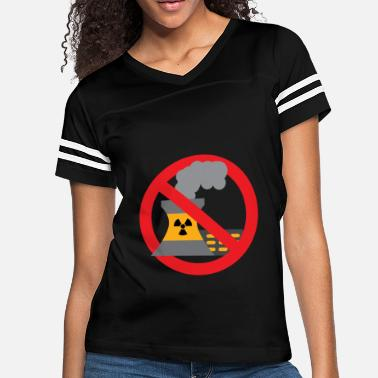 Anti Nuclear Power Anti nuclear power gift protest stop Castor - Women's Vintage Sport T-Shirt
