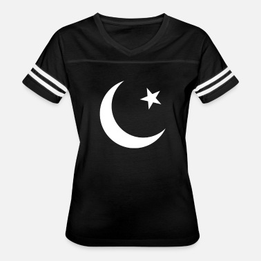 Pakistan Pakistan Flag - Moon Crescent - Women's Vintage Sport T-Shirt