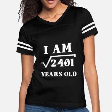 49 Years Old Birthday I Am Root 2401 49 Years Old Gifts - Women's Vintage Sport T-Shirt
