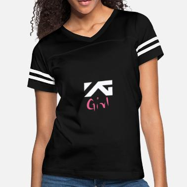 Yg Entertainment YG Girl T-Shirt - Women's Vintage Sport T-Shirt