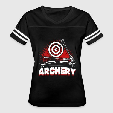 ARCHERY ARROW SHIRT - Women's Vintage Sport T-Shirt