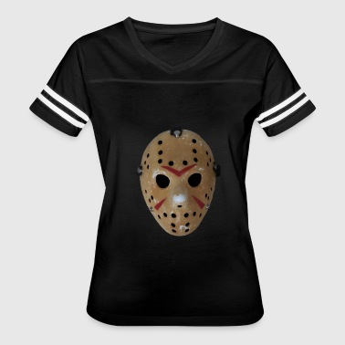 Jason Friday Friday the 13th Jason's Mask - Women's Vintage Sport T-Shirt