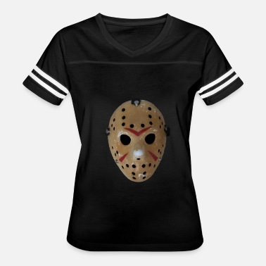 Friday Jason Friday the 13th Jason's Mask - Women's Vintage Sport T-Shirt