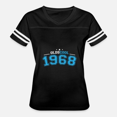 Turning 50 50th Birthday Oldscool 1968 - Women's Vintage Sport T-Shirt