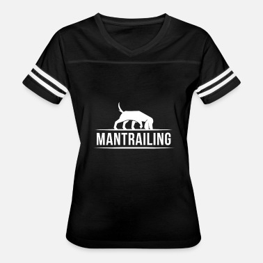 Search Dog T-Shirt Mantrailer Search Dog - Women's Vintage Sport T-Shirt