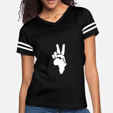 Peace Africa Peace to Africa - Women's Vintage Sport T-Shirt