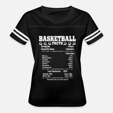 Basketball Facts Basketball Facts Shirt - Women's Vintage Sport T-Shirt