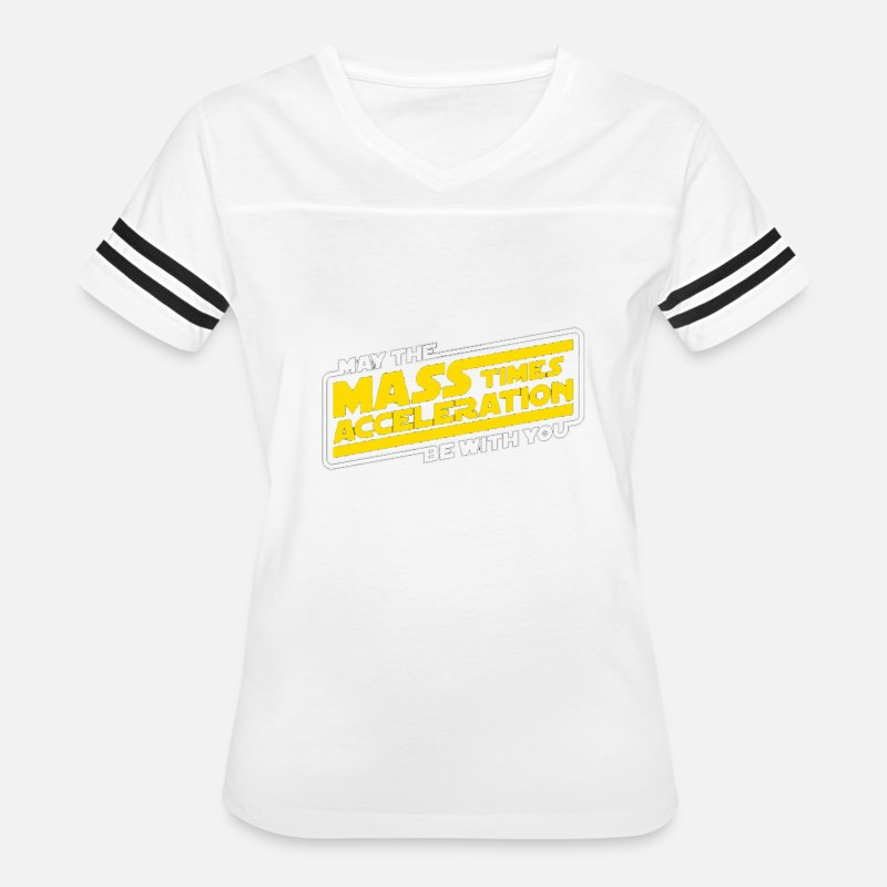 70a8ce7b Star Wars - Mass times acceleration be with you by | Spreadshirt