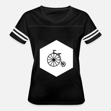 Penny Farthing HIPSTER PENNY FARTHING (w) - Women's Vintage Sport T-Shirt