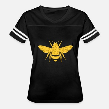 Honey Honeycomb Honey Bee - Beekeeper Flower Honeycomb - Women's Vintage Sport T-Shirt
