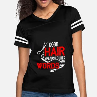 Scissors Comb hairdresser hair cut haircut - Women's Vintage Sport T-Shirt