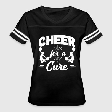 Cheer For A Cure Shirt - Women's Vintage Sport T-Shirt