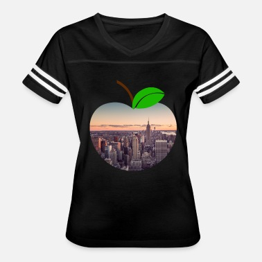 Neighborhood Manhattan Manhattan Neighborhood New York Big City Apple - Women's Vintage Sport T-Shirt