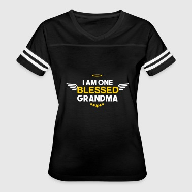 I am one blessed grandma - Women's Vintage Sport T-Shirt