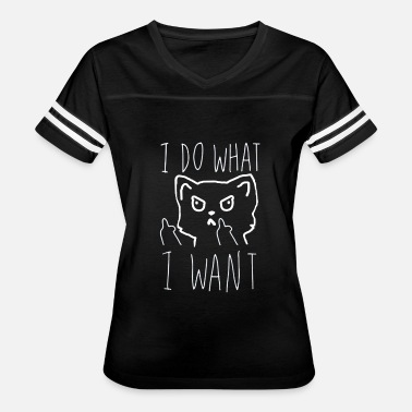 Middlesex Middle Finger I Do What I Want T Shirt - Women's Vintage Sport T-Shirt