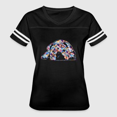 English Bulldog Tee Shirt - Women's Vintage Sport T-Shirt