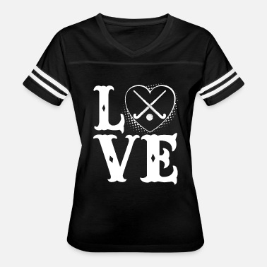Love Field Hockey Love Field Hockey Shirt - Women's Vintage Sport T-Shirt