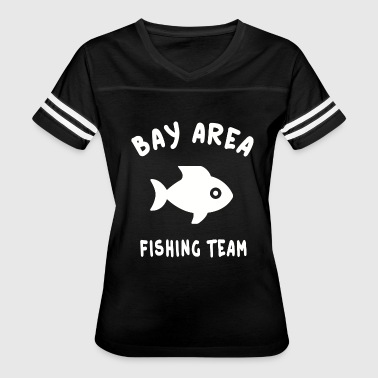 San Francisco - San Francisco Bay Area Fishing T - Women's Vintage Sport T-Shirt
