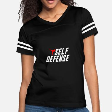 Self Defense Self Defense - Women's Vintage Sport T-Shirt