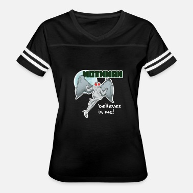 Mothman Mothman Believes in Me! | Point Pleasant, WV - Women's Vintage Sport T-Shirt