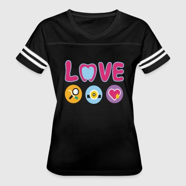 Dental Assistant Love Shirt - Women's Vintage Sport T-Shirt