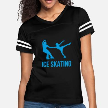Funny Sayings Ice Skating Ice Skating - Women's Vintage Sport T-Shirt