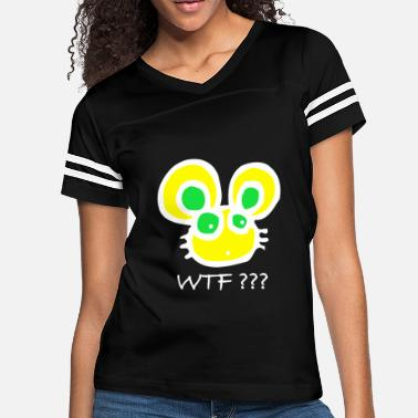 Rammler Do you know the WTF Rabbit? Bunny Color Fun Cool - Women's Vintage Sport T-Shirt