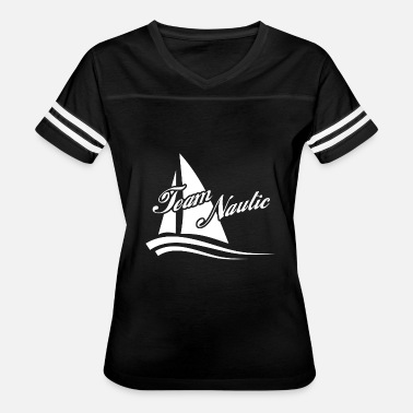 Sailing School Team Nautic - Sailing - Sailboat Sails - Women's Vintage Sport T-Shirt