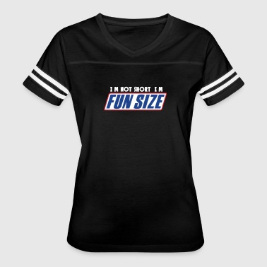 Snickers I M Not Short I M Fun Sized Snickers Marathan Funn - Women's Vintage Sport T-Shirt