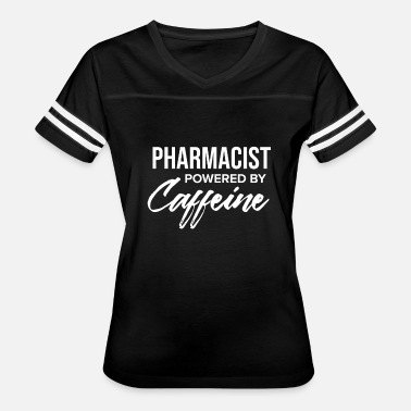 Powered By Caffeine Pharmacist Powered by Caffeine Pharmacy Coffee - Women's Vintage Sport T-Shirt