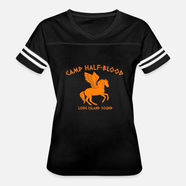 Rick Riordan Camp Half Blood - Women's Vintage Sport T-Shirt