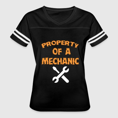 Property Of A Mechanic - Women's Vintage Sport T-Shirt