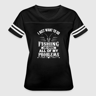 Fishing - Fish - Fisherman - Hobby - Sport - Women's Vintage Sport T-Shirt