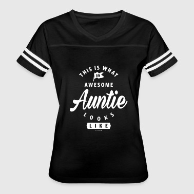 AWESOME AUNTIE - Women's Vintage Sport T-Shirt
