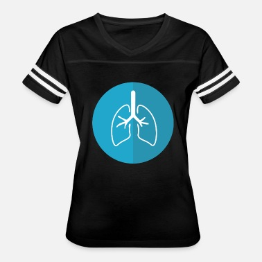 Lunges Lungs - Women's Vintage Sport T-Shirt