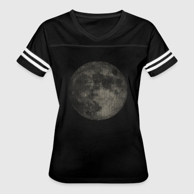 Glowing Cycling Full moon - Women's Vintage Sport T-Shirt