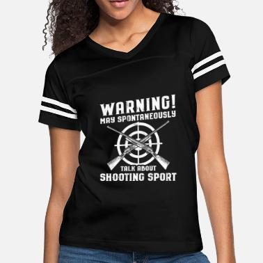 Gun Range Shooting Sports/Shooter/Firing Range/Guns/Rifles - Women's Vintage Sport T-Shirt