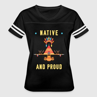 Native and Proud Bright Happy Men Women Youth Tee - Women's Vintage Sport T-Shirt