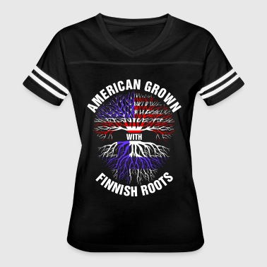 American Grown Finnish Roots - Women's Vintage Sport T-Shirt