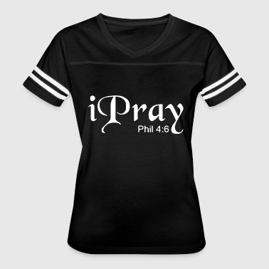God Awesome Jesus Christ Christian Love I Pray Jesus Christ Christian God 7 Colors To Choo - Women's Vintage Sport T-Shirt