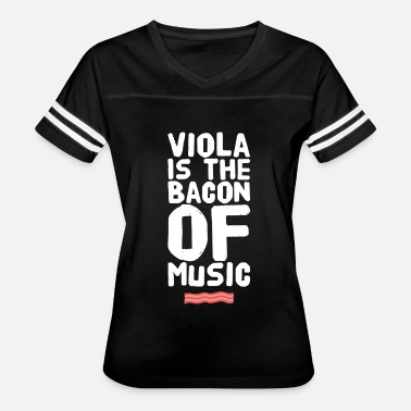 I Love Viola viola is the bacon of music - Women's Vintage Sport T-Shirt
