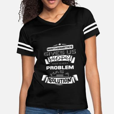 74eb185a Mathematics T Shirt - Women's Vintage Sport ...
